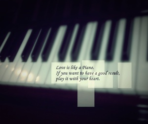 piano, love, and black and white image