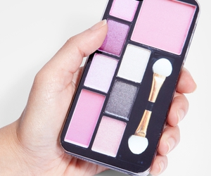 makeup, case, and iphone image