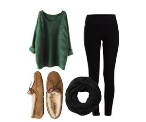 outfit and ugg image