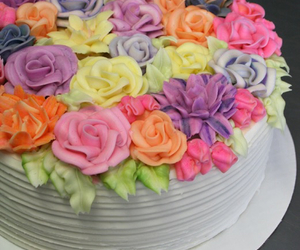 cake, colorful, and desserts image