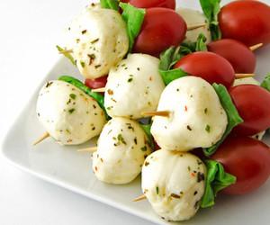 basil, mozzarella, and quick image