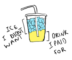 drink, funny, and ice image
