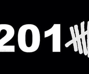 5sos, 2015, and new year image