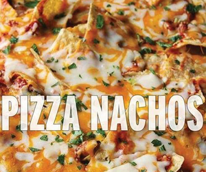 cheese, nachos, and pizza image