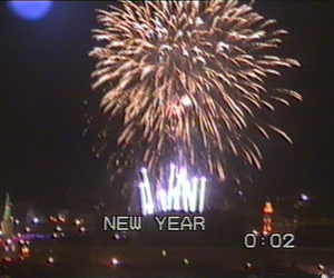 grunge, new year, and dark pale image