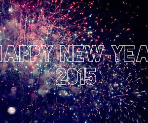 happy new year, new, and 2015 image