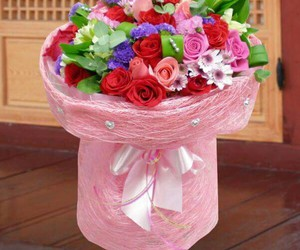 beautiful, bouquet, and decor image