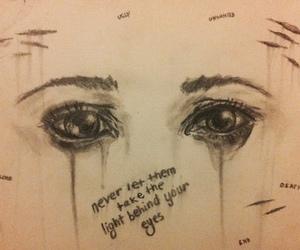 eyes, grunge, and life image