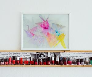 art and nail polish image