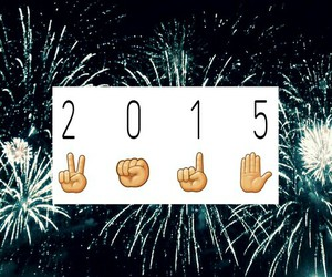 happy new year, hello 2015, and new year image