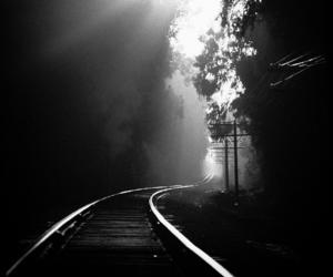 black, black and white, and Hengki Koentjoro image