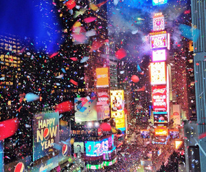 new york, new year, and nyc image