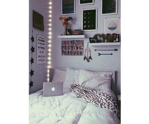 room, bed, and goals image