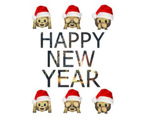 new year and 2015 image