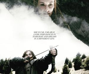 the hobbit, kili, and tauriel image