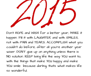 better, hope, and 2015 image