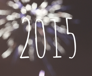 2015, firework, and new year image
