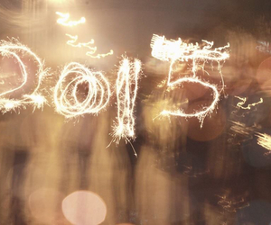 bokeh, fireworks, and new year image
