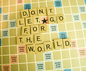 quote, scrabble, and words image