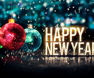 new year and happy image