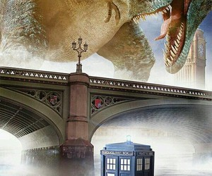 doctor who, tardis, and deep breath image