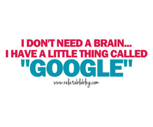 brain, funny, and girl image