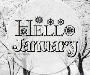 hello, 2015, and january image