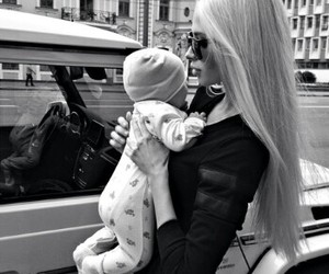 barbie, blonde, and baby image