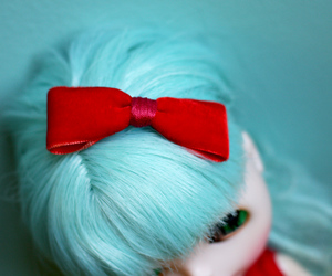 blythe, bow, and red image