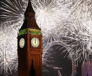 new year, Big Ben, and london image