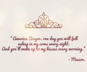 quote, the selection, and america singer image