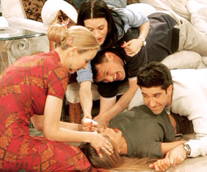 friends, f.r.i.e.n.d.s, and monica geller image