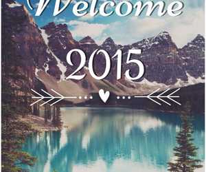 new year, welcome, and 2015 image