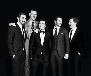 lee pace, benedict cumberbatch, and luke evans image