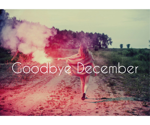december, goodbye, and hello image