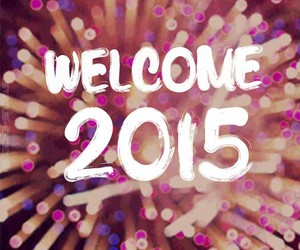 2015, fireworks, and welcome image