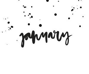 happy new year, january, and hello january image