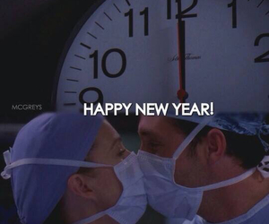 merder, grey's anatomy, and happy new year image
