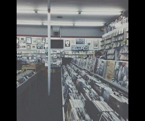 grunge, music, and records image