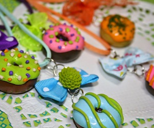 clay, donuts, and fimo image