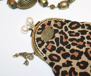 leopardo, purse, and monedero image