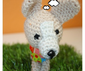 amigurumi, chihuahua, and crochet image