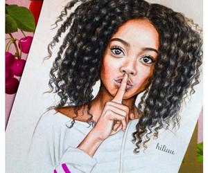 drawing and skai jackson image