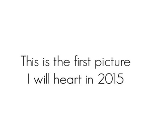 2015, heart, and new year image