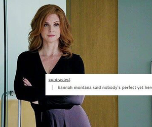 quotes and suits donna image