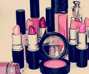 girly, mac, and pink image