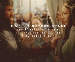 aragorn, love couple, and man image