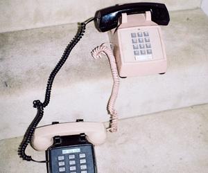 telephone, black, and grunge image