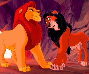 disney, the lion king, and scar image