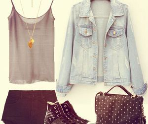 chic, fashion street, and girl image